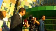 Frederico Varandas assistiu ao andebol e já está no Estádio de Alvalade para tomar posse