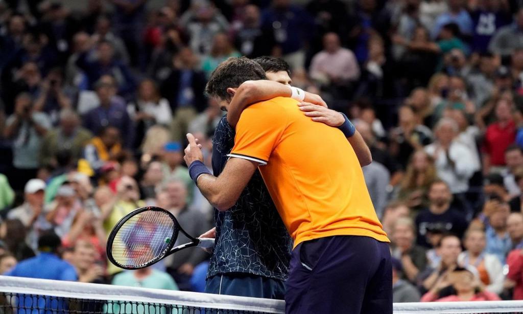 Del Potro-Djokovic (Reuters)