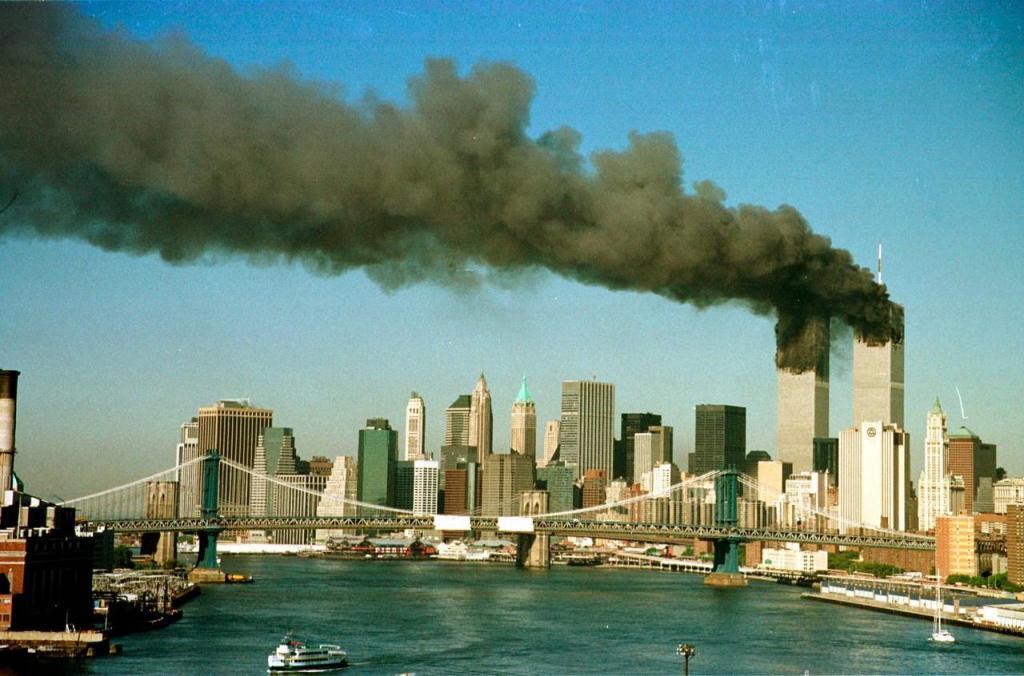 11 de Setembro: as imagens do dia que mudou o mundo