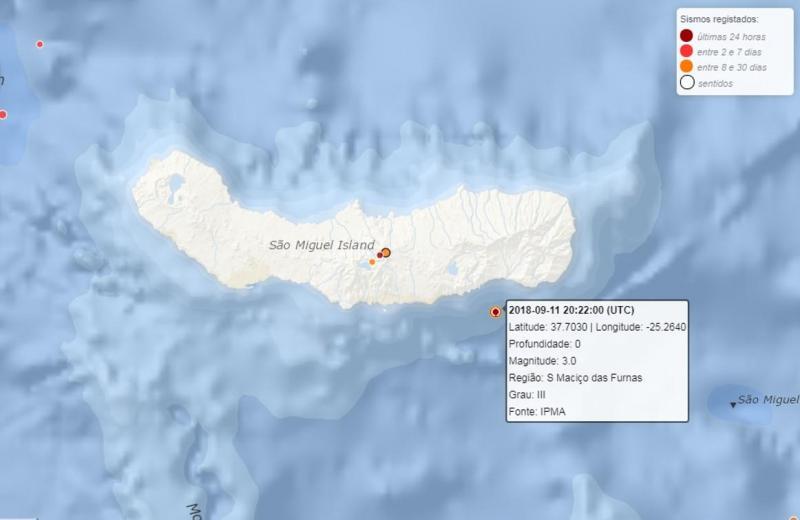 Sismo - Açores