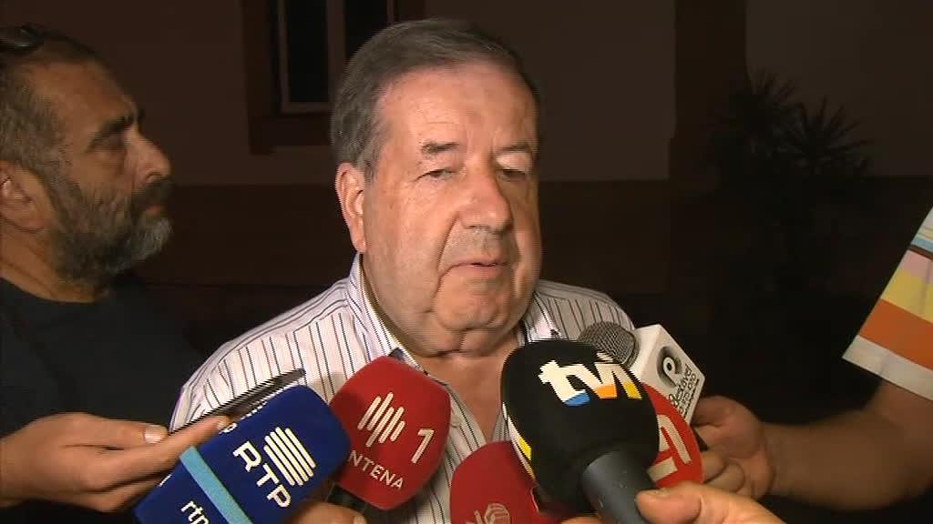 Valdemar Alves, presidente da Câmara de Pedrógão Grande