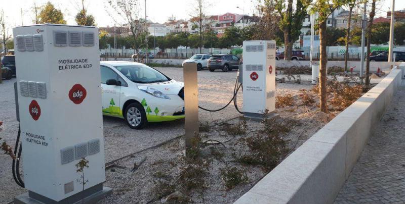EDP rede de carregamento elétrico
