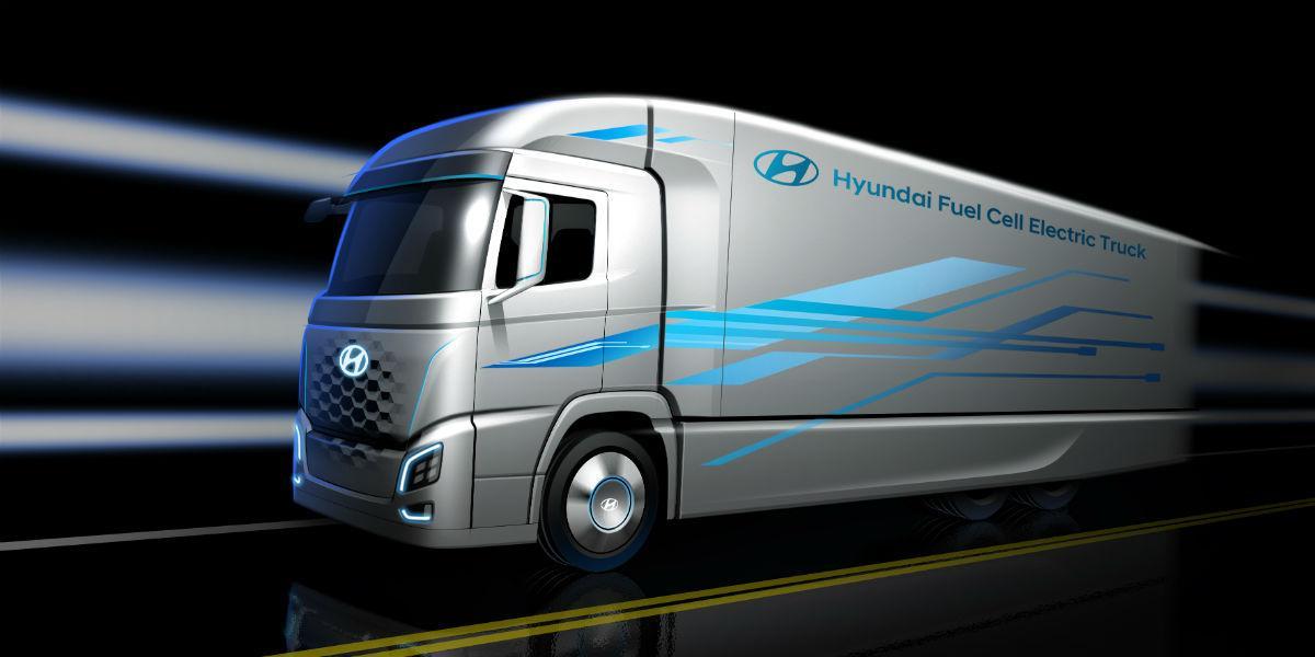 Camião Hyundai fuel cell