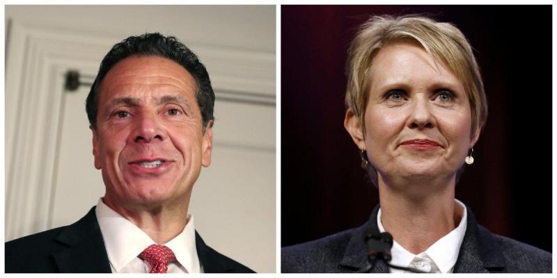 Andrew Cuomo vence atriz Cynthia Nixon nas primárias do Partido Democrata de Nova Iorque