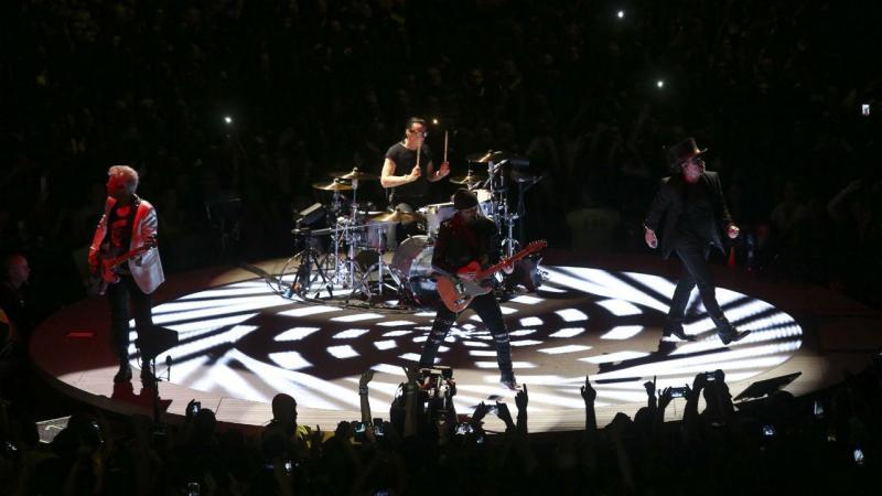 O primeiro concerto dos U2 em Lisboa