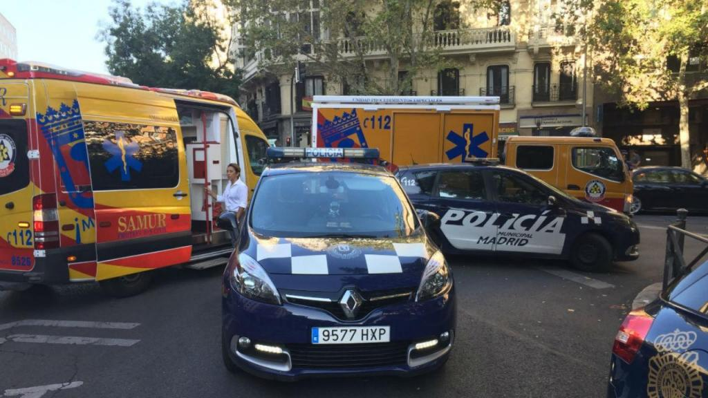 Incidente em Madrid