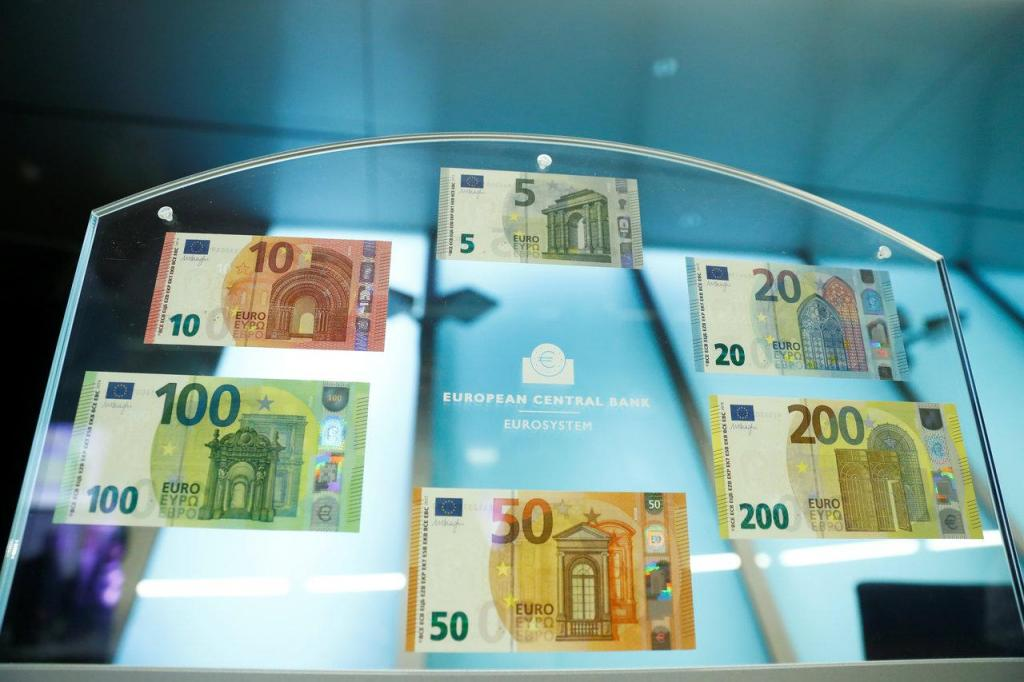 Novas notas de 100 e 200 euros