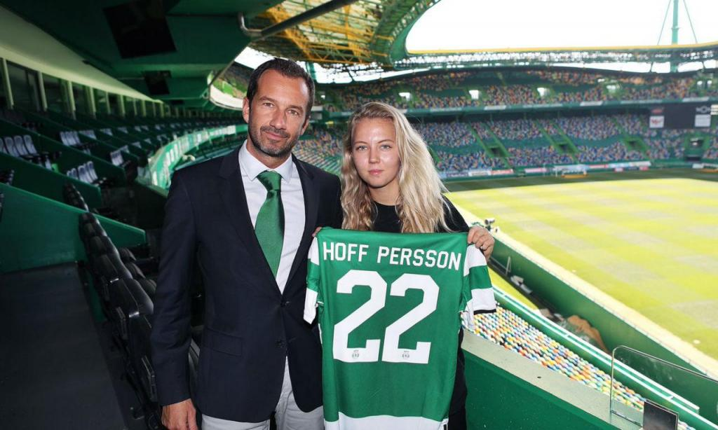 Nathalie Persson (twitter Sporting)