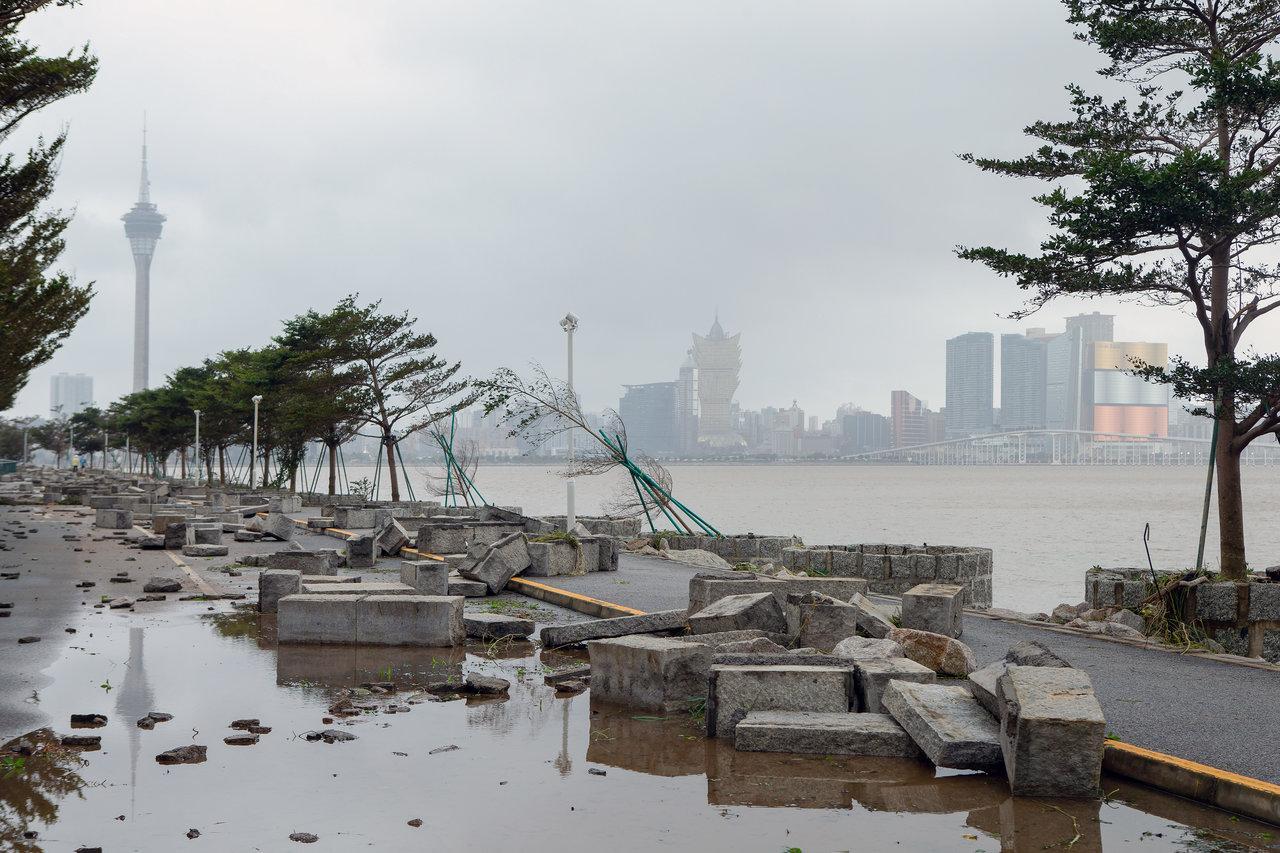Macau - Tufão Mangkhut