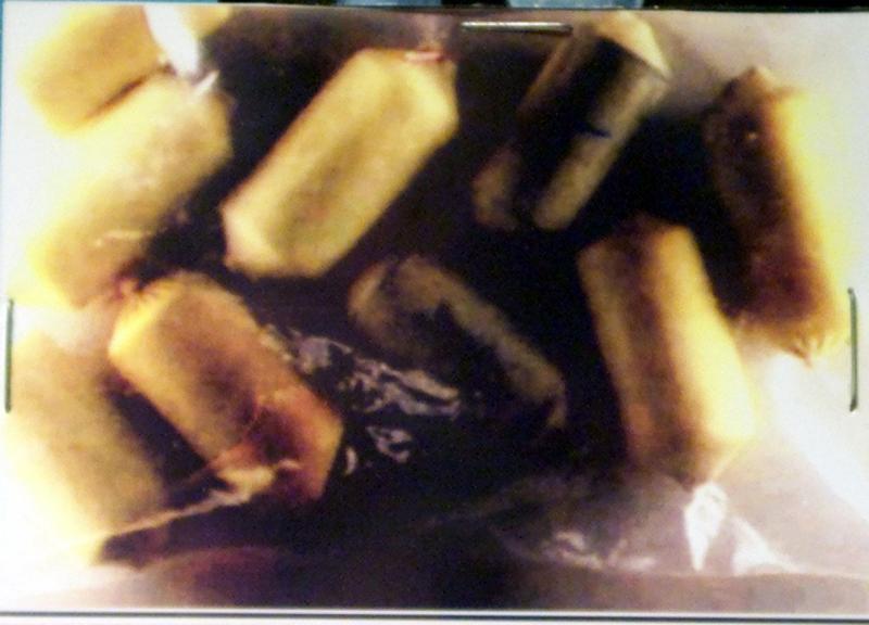 Cápsulas (bolotas) de cocaína e heroína (arquivo)