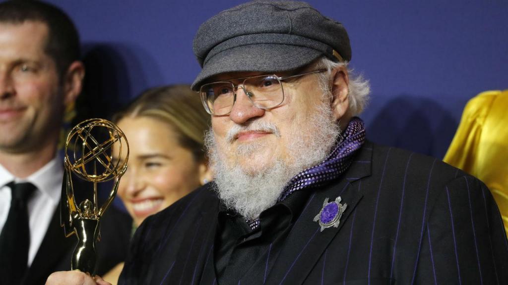 George R. R. Martin - Emmy's 2018