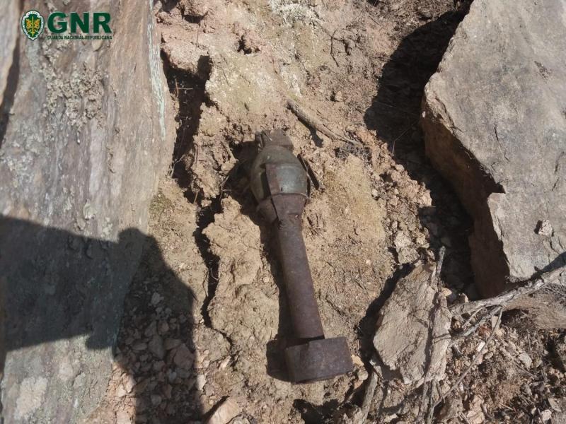 Engenho explosivo inativado encontrado em Mogadouro