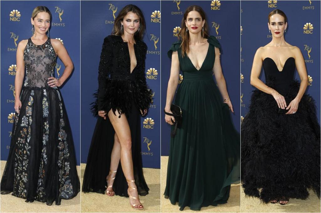 Todas as imagens da noite dos Emmys 2018