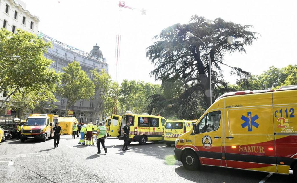 Hotel Ritz - Madrid (desmoronamento)