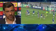 Exclusivo TVI: a reação de Sérgio Conceição ao empate do FC Porto