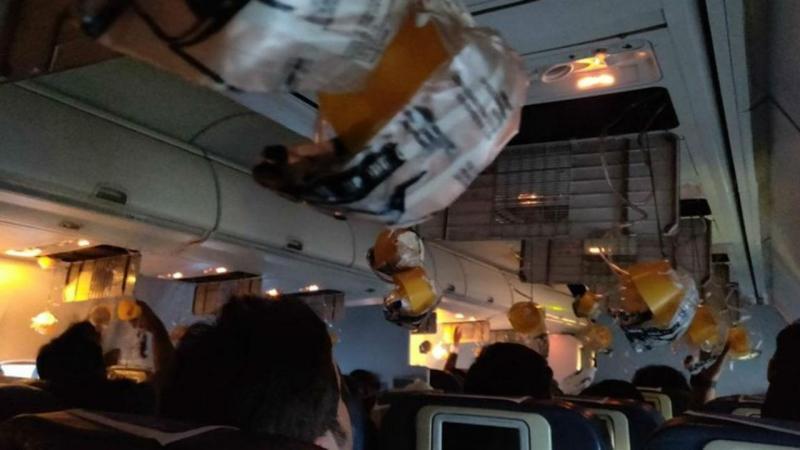 Perda de pressão em avião da Jet Airways
