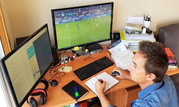 José Chieira a trabalhar