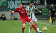 Rapid Vienna-Spartak Moscovo