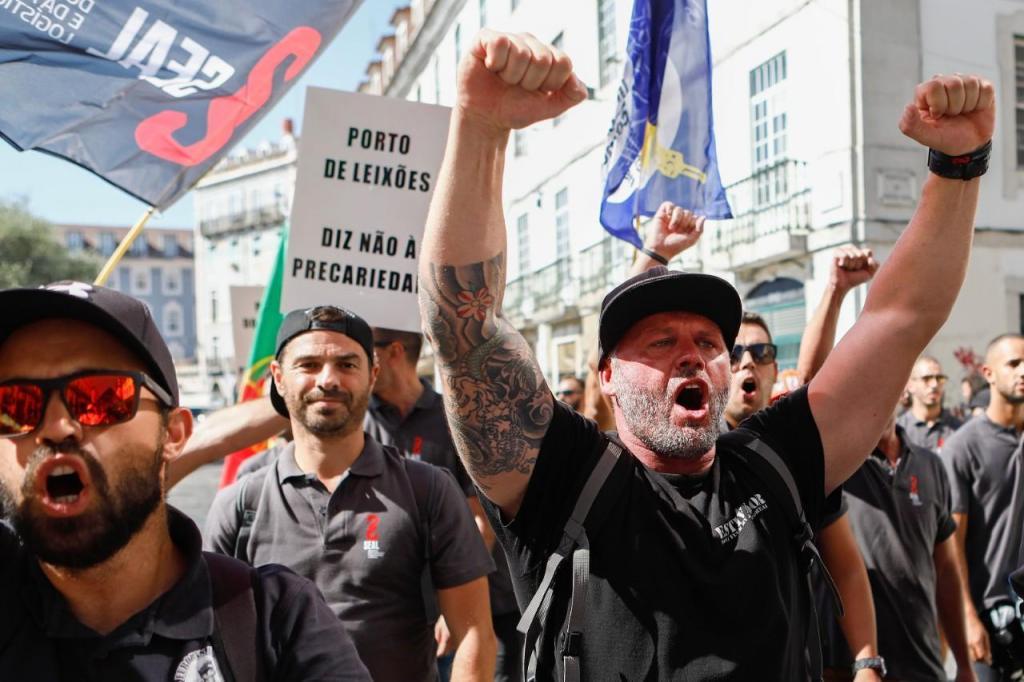Protesto de estivadores
