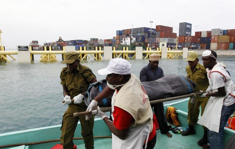 Tanzânia - salvamento em ferry boat (arquivo)