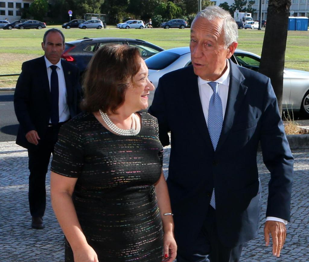 Marcelo Rebelo de Sousa e Joana Marques Vidal