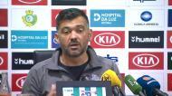 Sérgio Conceição explica aposta e elogia Sérgio Oliveira