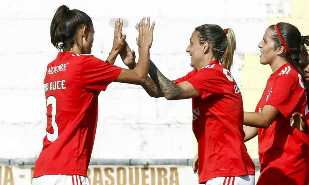 Equipa femina do Benfica