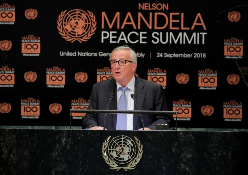 Jean-Claude Juncker - Nações Unidas