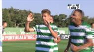 Liga Revelação: Miguel Luís faz o 3-0 em Alcochete