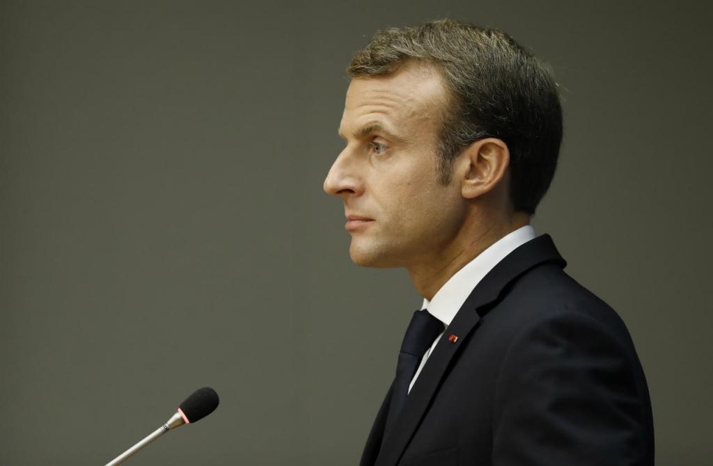 Emmanuel Macron - França