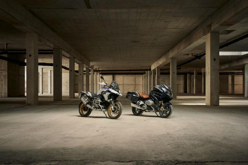 BMW R 1250 GS e BMW R 1250 RT