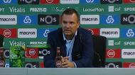 «Assobios dos adeptos do Sporting? Não nos cabe a nós dar resposta a isso»