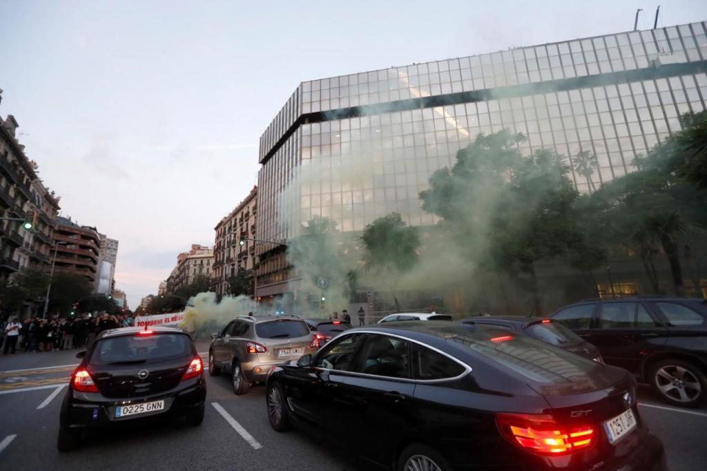 Protestos na Catalunha