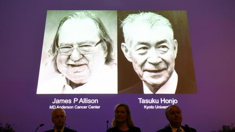 James P. Allison e Tasuku Honjo