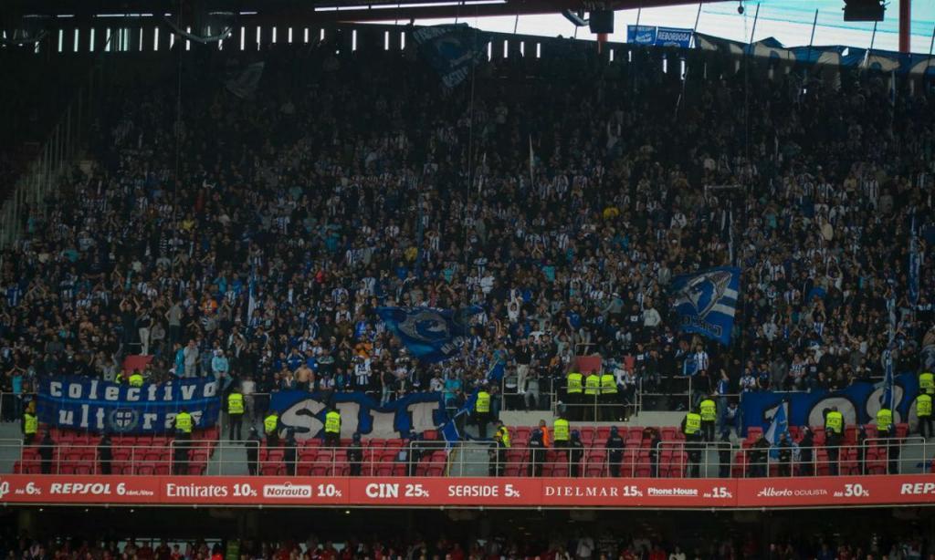 Adeptos do FC Porto na Luz