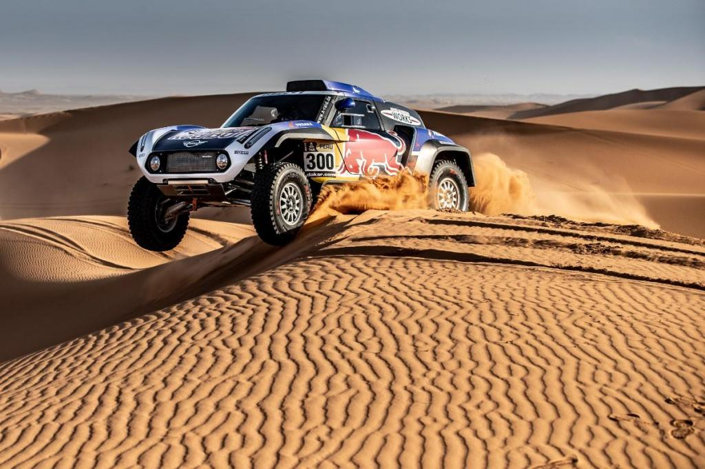 Mini prepara o Dakar 2019