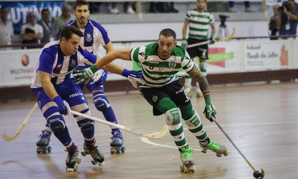 Hóquei: líder FC Porto perde e é igualado por Sporting e Oliveirense