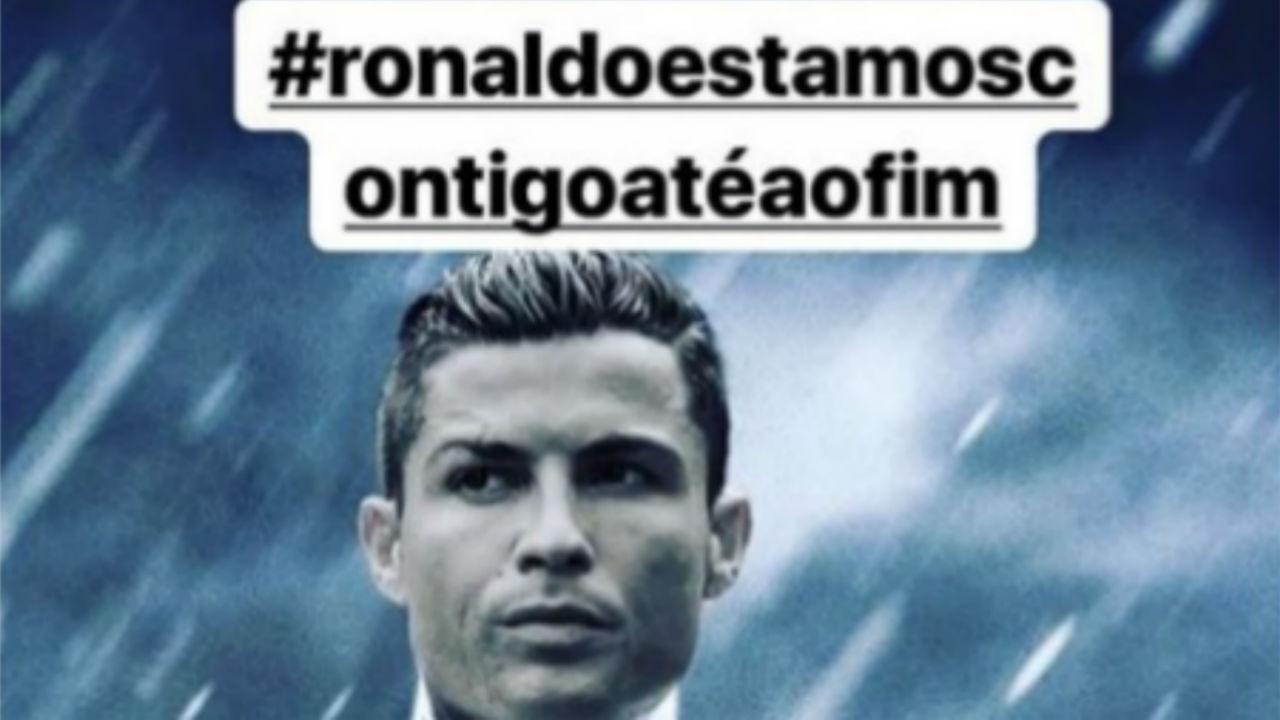 Dolores Aveiro pede corrente de apoio a Cristiano Ronaldo no Facebook