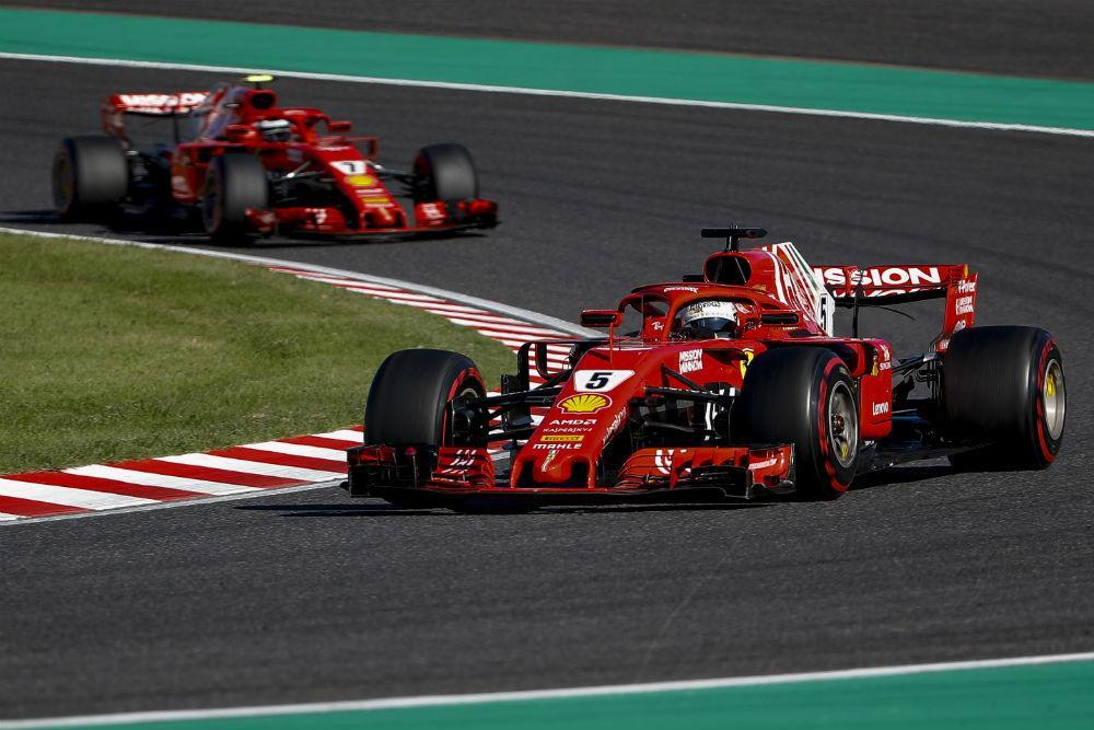 Vettel e Raikkonen (Lusa)