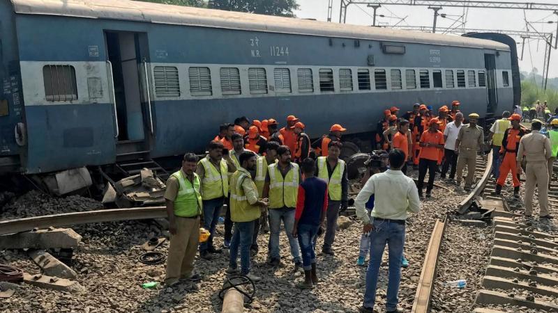 Descarrilamento de comboio