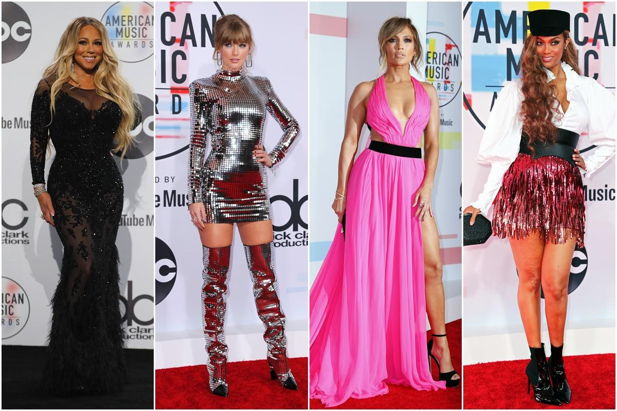 Todos os looks dos 2018 American Music Awards