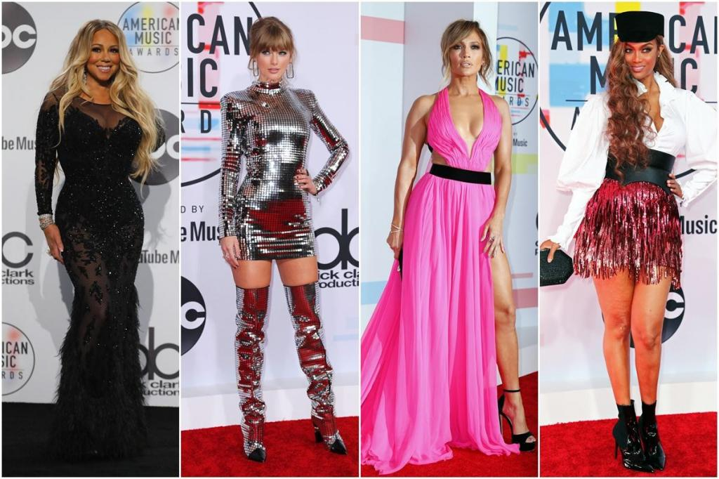 Todos os looks dos 2018 American Music Awards