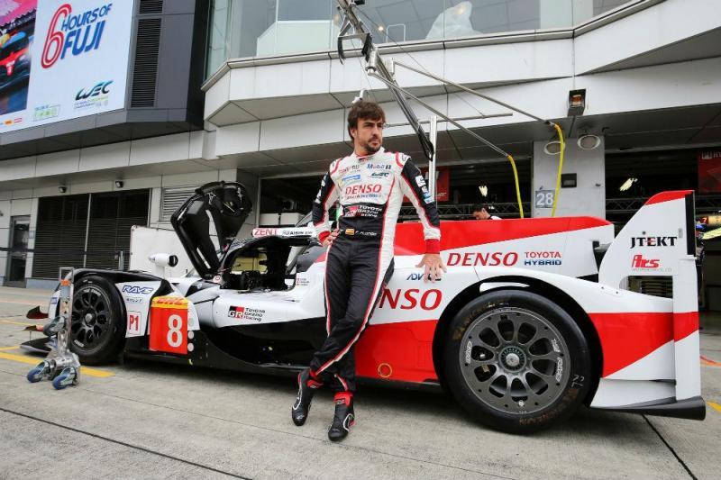 Fernando Alonso (Toyota Gazoo Racing)