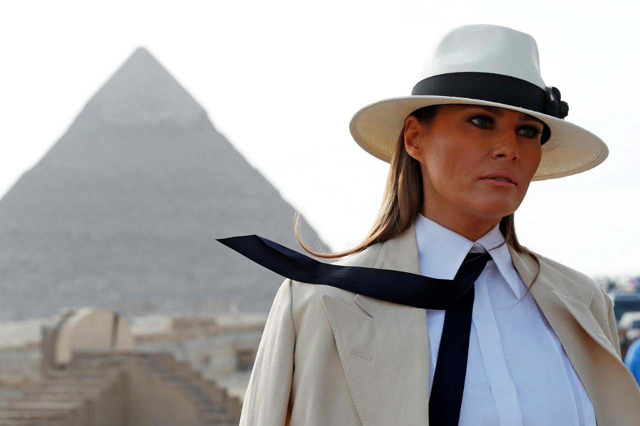 Melania Trump - Egito