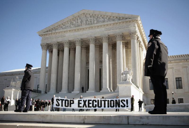 Protesto contra pena de morte - Washington