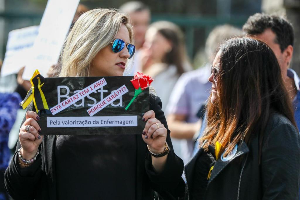 Enfermeiros - manifestação