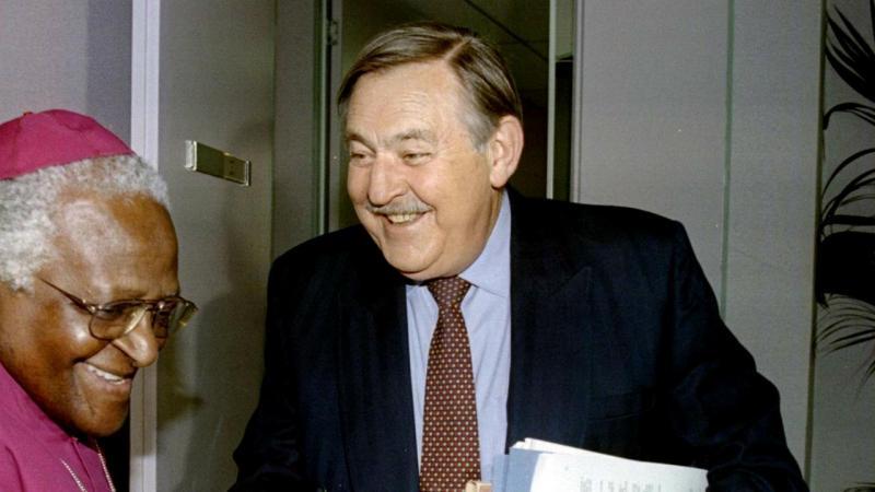Pik Botha, o ex-chefe da diplomacia do Apartheid