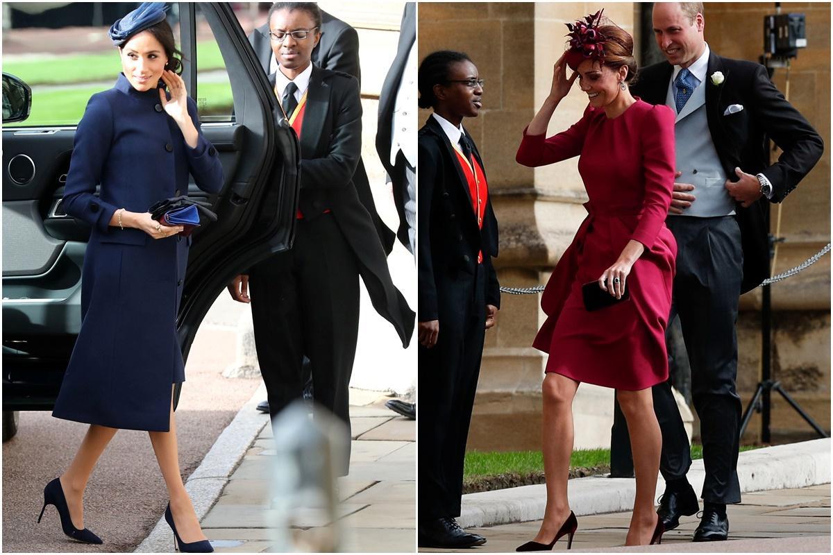 Kate Middleton ou Meghan Markle: qual a mais bem vestida?