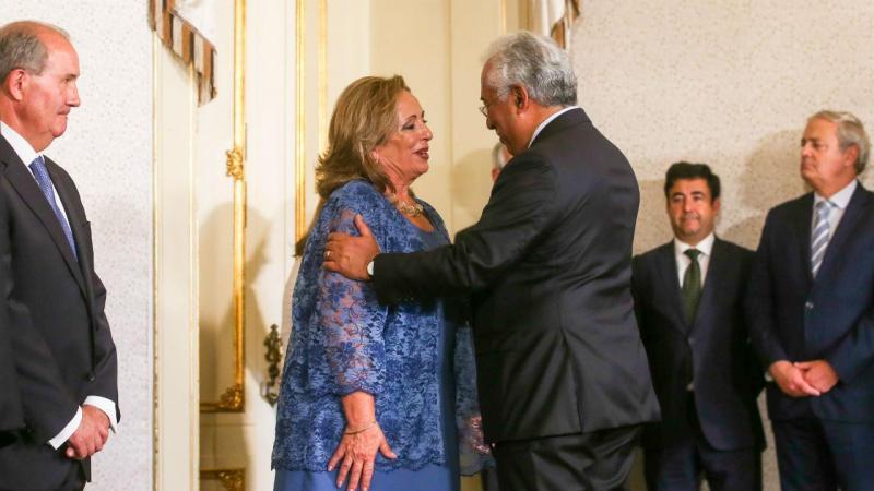 A nova procuradora-geral da República, Lucília Gago, toma posse