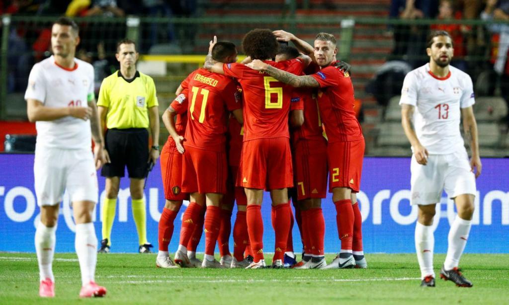 Bélgica-Suíça (Reuters)